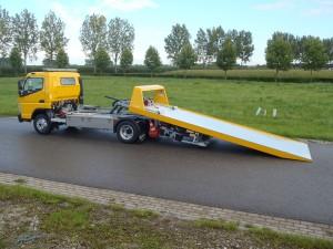 Aluminium schuifplateau de Groot techniek takelwagen Smits (39)